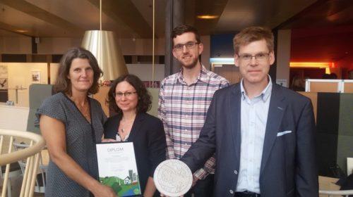 Vätterhem vinner Jönköpings Läns Klimatpriset 2016