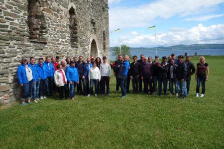 Det blev en sagolikt tur med vädret och superkul dag på Visingsö när team Öxnehaga firade av sin Hasse.