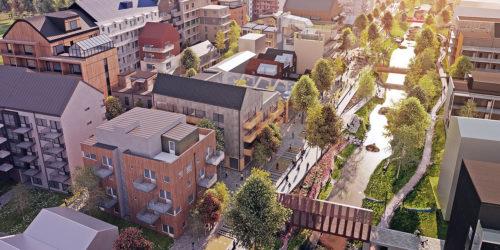 Vallastaden är en ny milstolpe i sättet att bygga den moderna staden. Fokus är blandad bebyggelse, sociala hållbarhet, mötesplatser och flexibla planlösningar. Projektteamet med Simon i spetsen har gjort ett imponerande arbete som är värd all respekt och lite till.